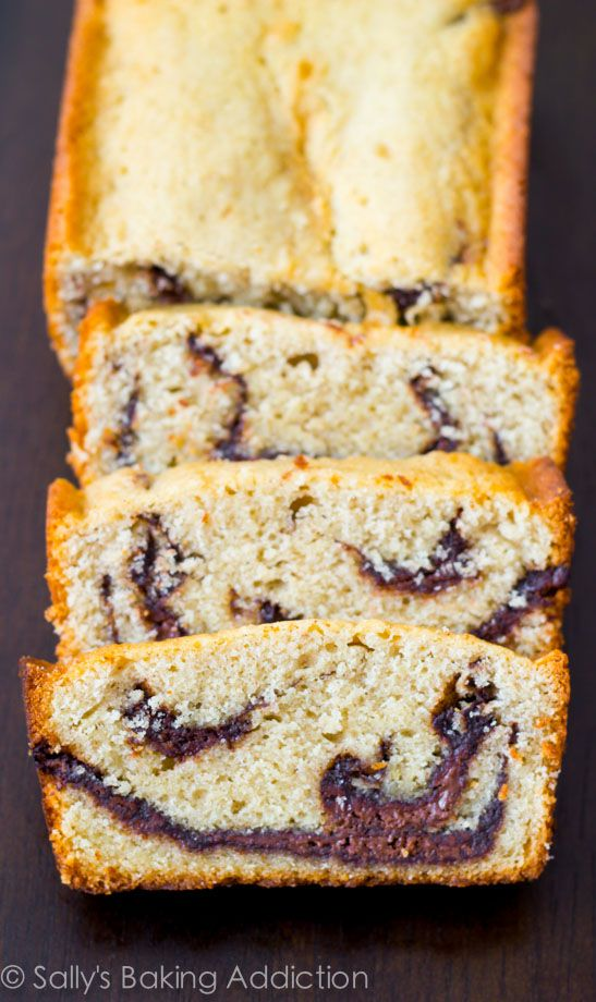 Tender and moist, this pound cake is loaded with buttery flavor and sweet Nutella swirls. It will melt in your mouth.