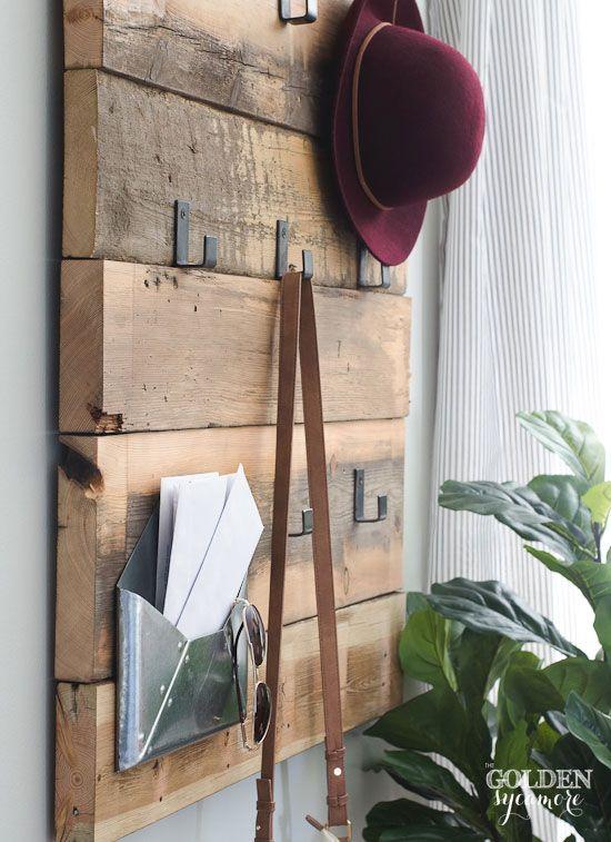 Best 25 Rustic Coat Rack Ideas On Pinterest Rustic Coat