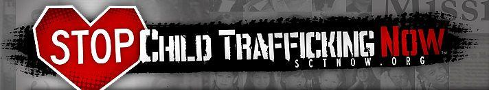SCTN - Stop Child Trafficking Now Focuses on ending demand of Child Trafficking.
