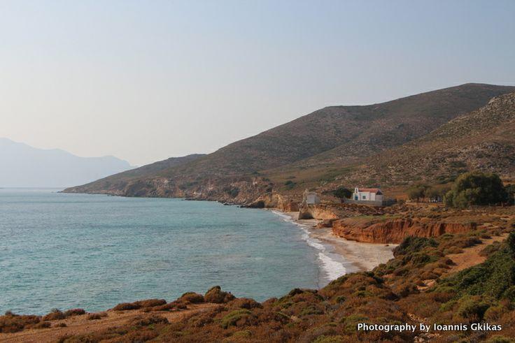Grafiotisa Beach on the island of Pserimos in Greece