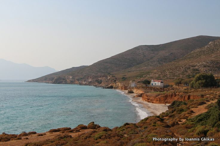 Grafiotisa Beach on the island of Pserimos in Greece
