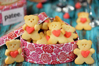 Песочное печенье Мишки-мимишки
