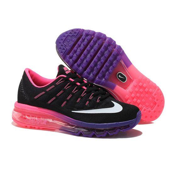 Women's Nike Air Max 2016 Black Pink Purple
