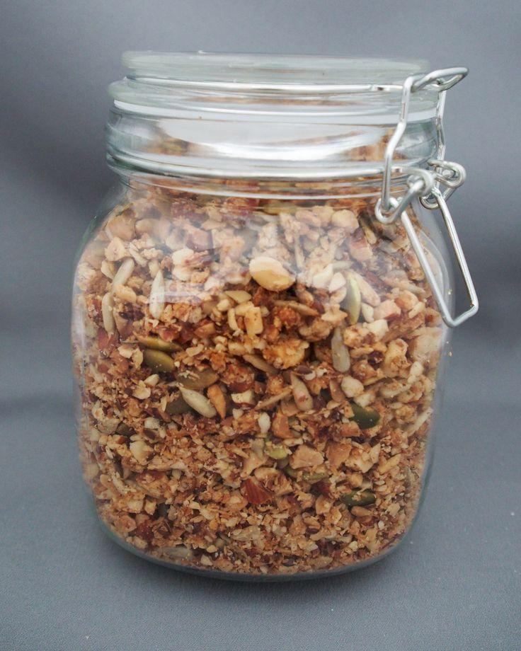 Crunchy Grain-Free Granola