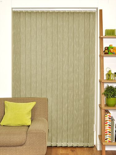 Taos Pistachio Vertical Blind from Blinds 2go