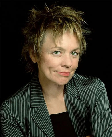 Laurie Anderson, performance artist & person with migraine disease