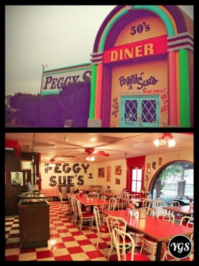 SNAPPED - Peggy Sue's Diner @ Highway I-15, Yermo, California