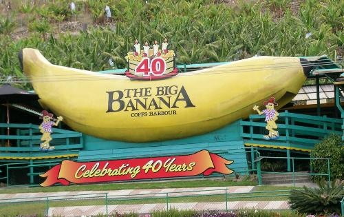 The Big Banana....Coffs Harbour, New South Wales
