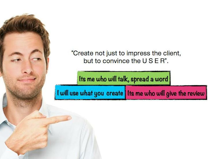 Think like the USER, if you want to deliver a solution thats appropriate. Create a solution to convince the USER.#dailydoseofknowledge  PS: Image credits sellandcompany