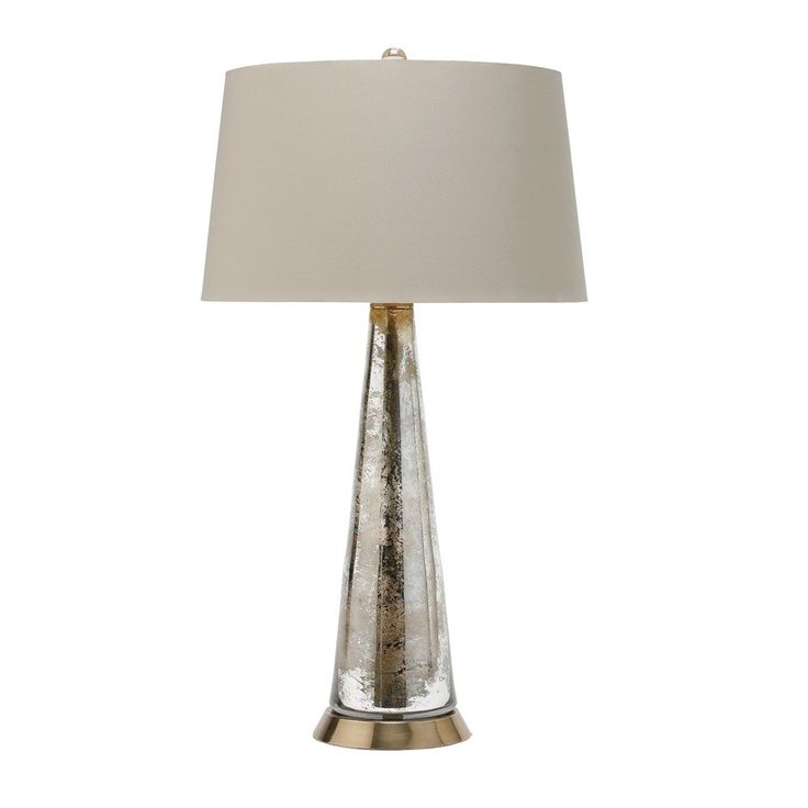 Arteriors Silver Camel Lamp