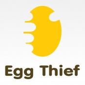 Egg Logos: egg thief, negative space | COLLECTIONS