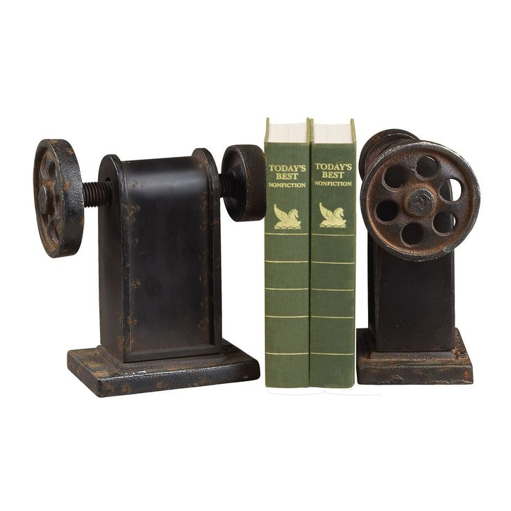 Industrial Book Press Book Ends 129-1008/S2