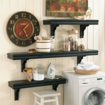 How to make these shelves!  So easy and inexpensive!