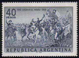 Twitter / TomasFSanchez: Estampilla Argentina 1968 - ...