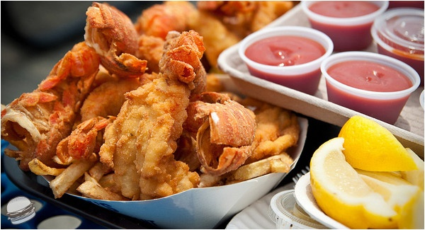 Fried Lobster Tails City Island
