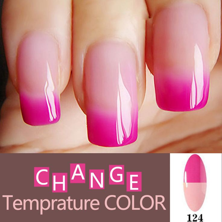 Mood Changing Gel Nail Polish Long Lasting Soak Off Led Uv Lacquer Chameleon