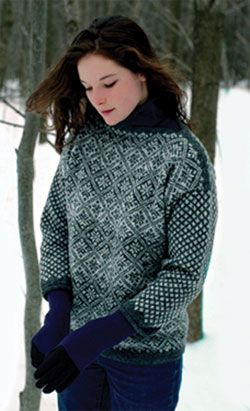 image for Snow-Sky Sweater pattern