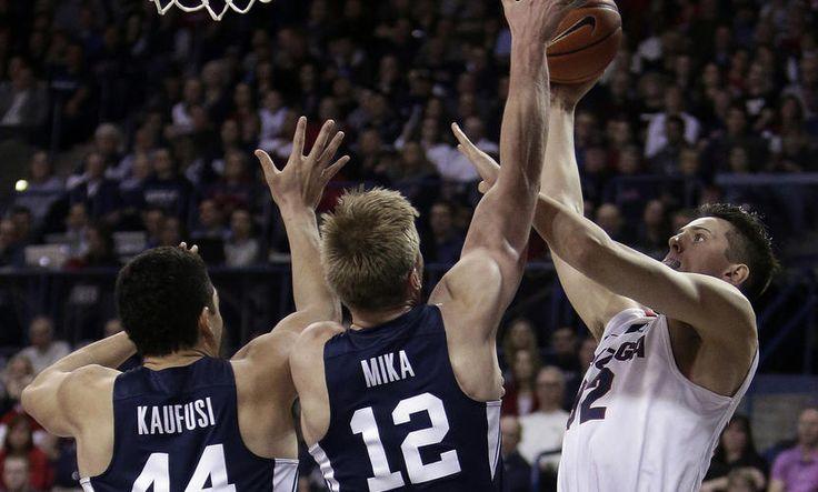 BYU Basketball Team Beats #1 Ranked Gonzaga 79-71