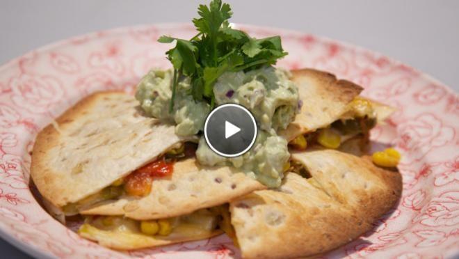 Vegetarische quesadillas - De Makkelijke Maaltijd | 24Kitchen