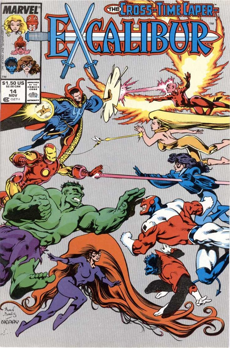 Excalibur (1988) Issue #14 - Read Excalibur (1988) Issue #14 comic online in high quality