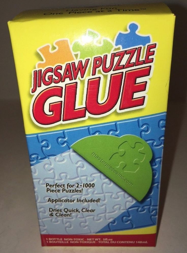 Jigsaw Puzzle Glue by Materpieces Puzzle Makers Non Toxic .5 fluid ounce bottle #MasterpiecesPuzzleCo