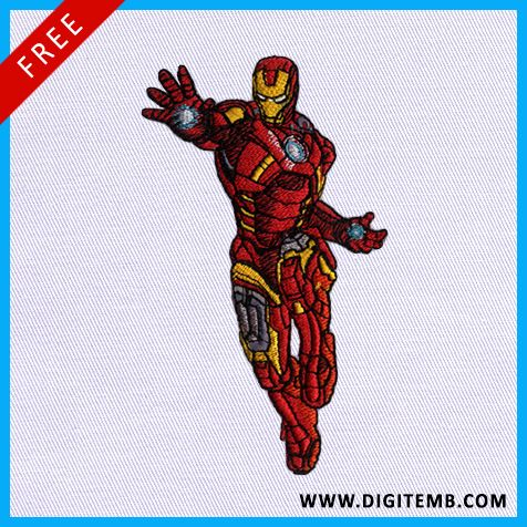 #Save this #Ironmanembroiderydesign to your #Board and get it's #embroiderdesign…