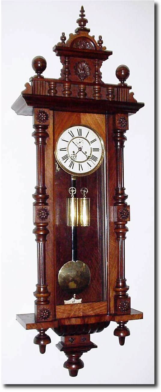 276 best clocks images on pinterest salvaged furniture vintage watches and antique clocks - Wall hanging grandfather clock ...