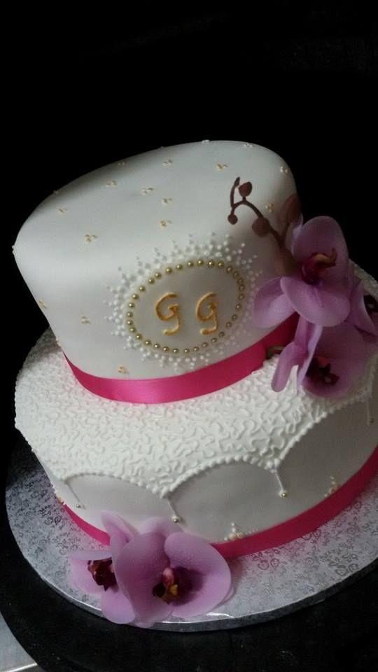 #torta per i 50 anni di #matrimonio simocakedesigner.it