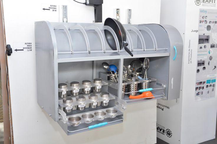 Satay - Sistema organizador para cocinas industriales