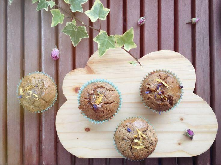 Muffins sans & gourmand à la fleur d'oranger & au café (sans café)