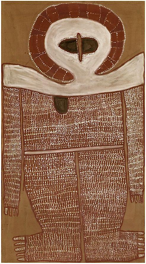Alec Mingelmanganu ~ Wandjina, 1980