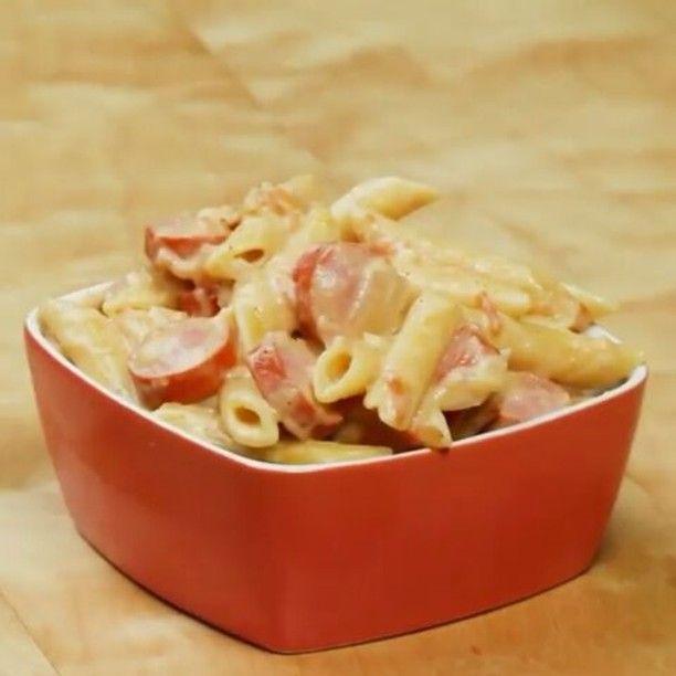 @Regrann_App from @tastyjapan -  調理時間20分! クリーミー・ソーセージペンネ🍝 via @tastydemais  #レシピ #パスタ #ペンネ #ランチ #ディナー #ソーセージ #料理好きな人と繋がりたい #料理 - #regrann