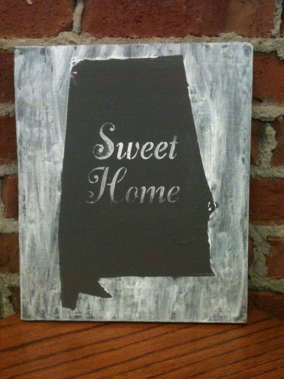Sweet Home Alabama. $18.00, via Etsy.: Rolllll Tide, Paintings Paintings, Hands Paintings, Etsy, Sweets, So True, Crimson Tide, Sweet Home Alabama, Homes