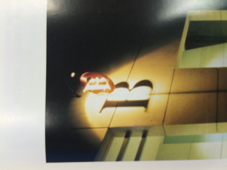 "1. Wall mounted perpendicular 2. Dot Dash 3. Environmental Graphics 4.illuminated by light to create a bigger sign of ""B"". the most funcional at night"