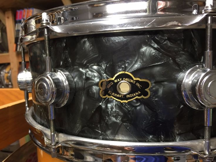 1950's George Way Camco Black Diamond Pearl Snare Drum | eBay