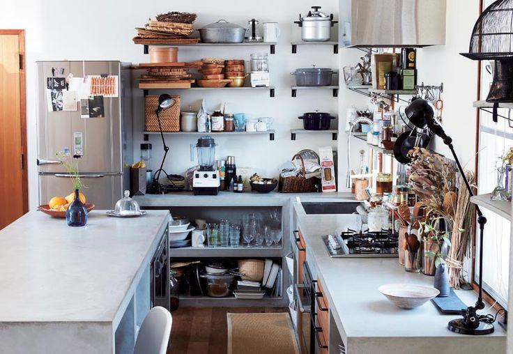 真似したい!料理が好きになる「こだわりキッチン収納ルール」 - itLIFE by FRaU(イットライフ バイ フラウ)