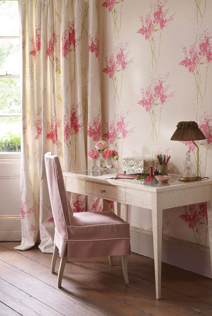 NINA CAMPBELL - Barrington Wallpaper from the Montacute Autumn 2011 collection - @Nina_Campbell