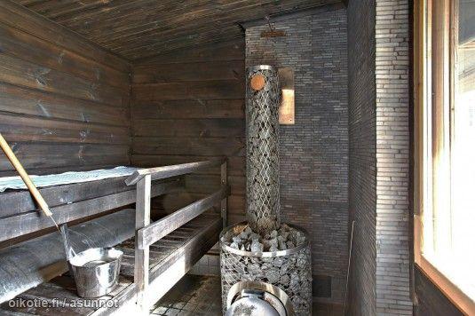 Myynnissä - Omakotitalo, Suvisaaristo, Espoo: #sauna #kiuas #iki #oikotieasunnot