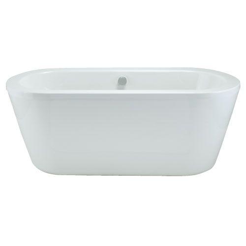 Trend freestanding 1500mm bath with surround panel - Bathstore.com