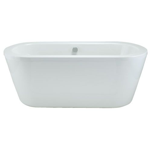 Trend freestanding 1800 bath with surround panel