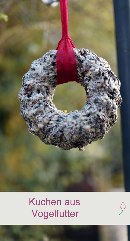 DIY: Vögel füttern und gleichzeitig den Garten dekorieren