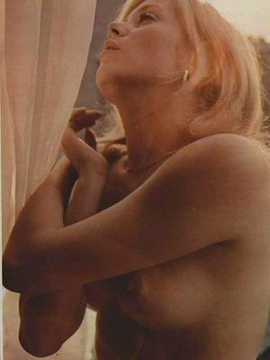 Catherine Deneuve for Playboy, 1965.