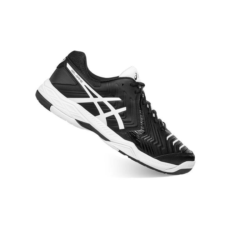 ASICS GEL-Game 6 Men's Tennis Shoes, Size: 7.5, Black, Durable