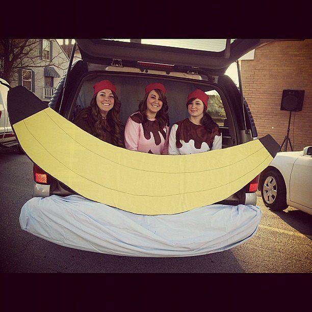 Trunk-or-Treat Ideas. Banana Split - how fun!!!
