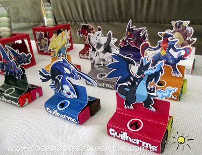 Doce Surpresa Presentes: Festa Pokemon
