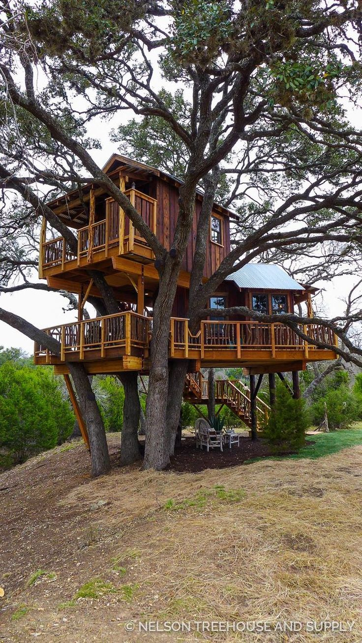 Hill Country Hideout- Pete Nelson - Treehouse Masters Season 9...love the