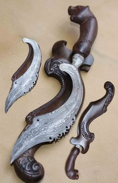 Kujang, traditonal weapon of West Java ( SUNDA )
