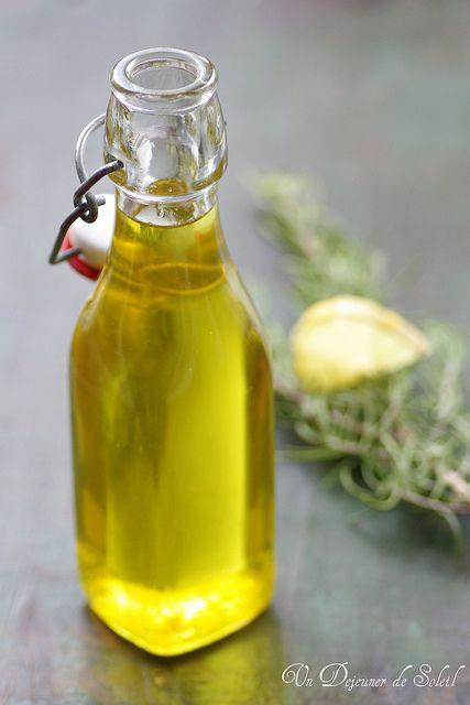 Sirop de romarin et citron (pour une bouteille de 500 g environ)