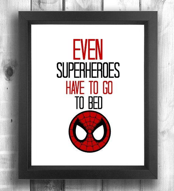 Check out this item in my Etsy shop https://www.etsy.com/ca/listing/249284690/superhero-nursery-spiderman-baby-print