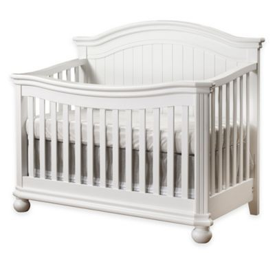 Sorelle Finley 4-in-1 Convertible Crib in White - BedBathandBeyond.com